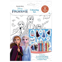 Disney Frozen 2 Colouring Set