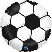 "Mini Football 9"" Foil Balloon"