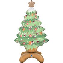 "Christmas Tree 38"" Standups Foil Balloon"