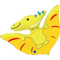 """Pterodactyl Dinosaur 34"""" Foil Balloon"""