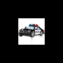 "Police Car 14"" Mini Shape Foil Balloon"