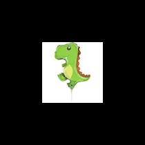 "Friendly Dinosaur 14"" Mini Shape Foil Balloon"