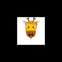 "Giraffe Animal Head 14"" Foil Balloon"