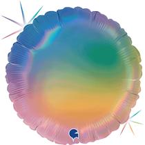 "Holographic Rainbow 18"" Foil Balloon"