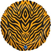 """Grabo Tiger Stripes 18"""" Foil Balloon"""