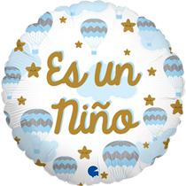 "Es Un Nino Blue 18"" Foil Balloon"