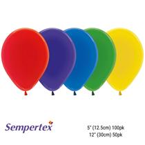 Sempertex Crystal Assorted Latex Balloons