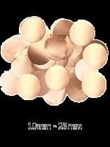 Oaktree Metallic Pearl Rose Gold Foil Confetti