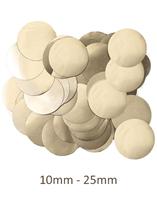 Oaktree Metallic Pearl Gold Foil Confetti