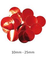 Oaktree Metallic Red Foil Confetti