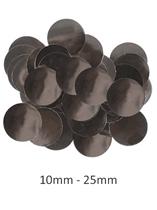 Oaktree Metallic Black Foil Confetti