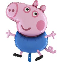 Peppa George Pig Jumbo Foil Balloon Party Decoration