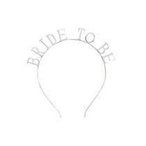Deluxe Metal Headband Bride To Be