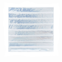 Iridescent Foil Stamped Striped Napkins 20pk