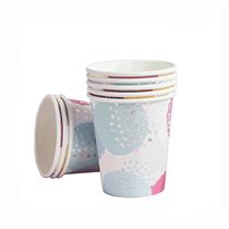 Pastel Patterned Paper Cups 10pk