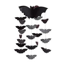 Halloween Bat Card Mobile 52cm