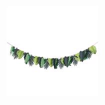 Tropical Leaf Garland Banner 2M