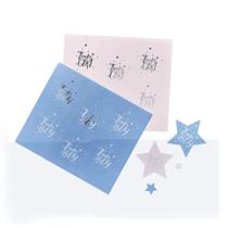 Team Boy Or Girl Sticker Sheets 24pk