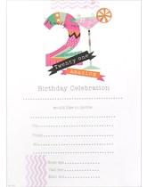 21st Birthday Party Invitation Sheets & Envelopes 20pk