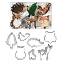 Woodland Animals 7 Piece Cookie Cutter Set