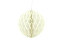 Cream Hanging Honeycomb Ball 20cm Decoration