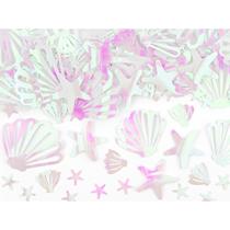 Large Iridescent Seashell Ocean Confetti 23g