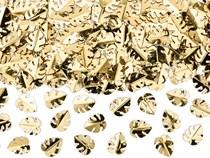 Gold Metallic Foil Leaves Confetti 15g