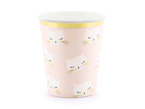 Meow Party Cats Pink Paper Cups 6pk