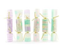 Pastel Colour Confetti Crackers 6pk