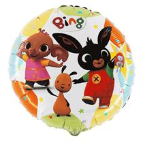 """Bing & Friends 18"""" Round Foil Balloon"""