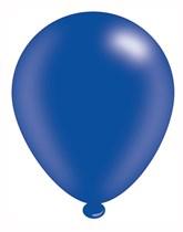 "Dark Blue 10"" Latex Balloons 8pk"