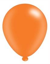 "Orange 10"" Latex Balloons 8pk"