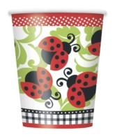 Ladybird Paper Cups 8pk