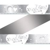 Wedding Wishes Foil Banner