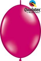 "12"" Jewel Magenta Quick Link Latex Balloons - 50pk"