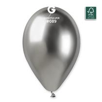 Gemar Shiny Chrome 12 Inch Latex Balloons
