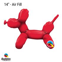 Qualatex balloon modelling dog animal foil balloon