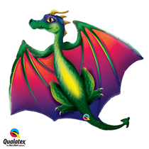 Flying Dragon large foil balloon party decoration