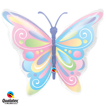 Large butterfly foil balloon party decoration