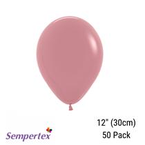 Sempertex Rosewood latex balloons
