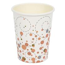Sparkling Fizz Rose gold cups 8 pack