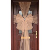 Door Decoration Bow Organza Rose Gold