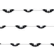 Halloween Bats 6ft Garland