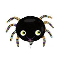 Halloween spider mini shape foil balloon