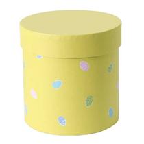 Yellow Easter Egg Hat Box Balloon Display Box