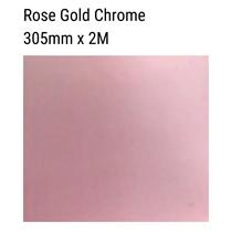 Rose Gold Chrome Metallic Vinyl