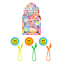 Smiley Face Disc Shooter Party Bag Filler Toy
