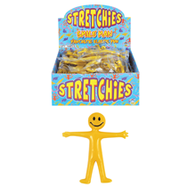 Stretchies Stretchy Man Party Bag Fillers Favours Box 144