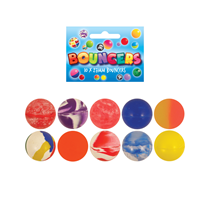 Pack of 10 bouncy jet ball party favours