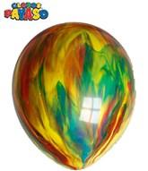 "Marbled 12"" Latex Balloons 100pk"